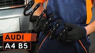 Achteras Rubbers monteren AUDI A4 (8D2, B5): gratis video