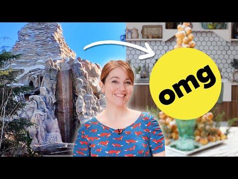 Can Katie Turn A Disneyland Ride Into A Dessert?