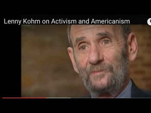 Lenny Kohm on Activism and Americanism