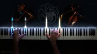 Game of Thrones - Medley (Piano &amp String Cover) [Intermediate]