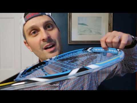 ASHAWAY Powerkill Ice 125 VM Squash Raquette Double Pack