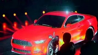 UK MUSTANG CHINA (Ford unveils its new Mustang in Shanghai)