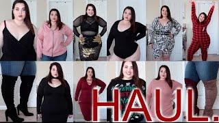 Winter Try-On HAUL! Boohoo, FTF, Rebdolls... |Plus Size Fashion|