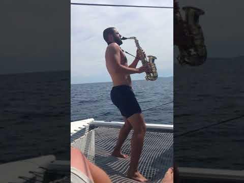 Pirates of the Carribean Theme | SAXOBEATZ @ ST. TROPEZ | DJ & Live Saxophone | Adrian Planitz