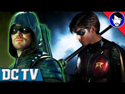 Will TITANS Crossover with ARROW, The FLASH or SUPERGIRL? | DCTV Recap