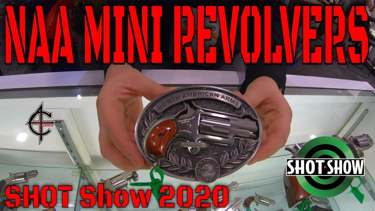 NAA Mini Revolvers SHOT Show 2020