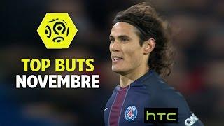Top buts Ligue 1 - Novembre 2016/2017