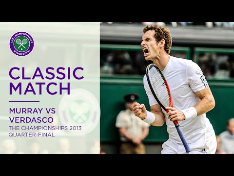 Andy Murray vs Fernando Verdasco | 2013 Wimbledon QF full match