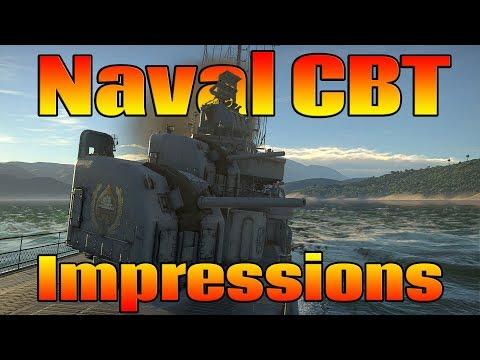 War Thunder: Fleet CBT Impressions ( Fletcher & Z-20 Karl Galster Gameplay)