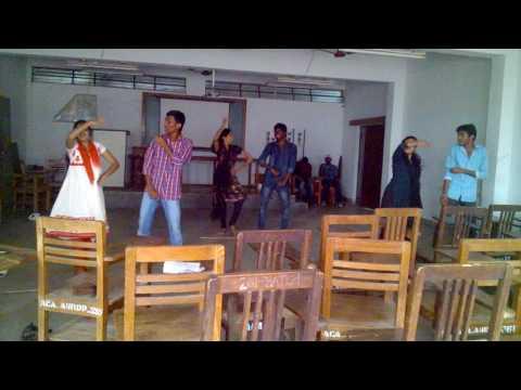 uttimeda kudu dance jagtial students