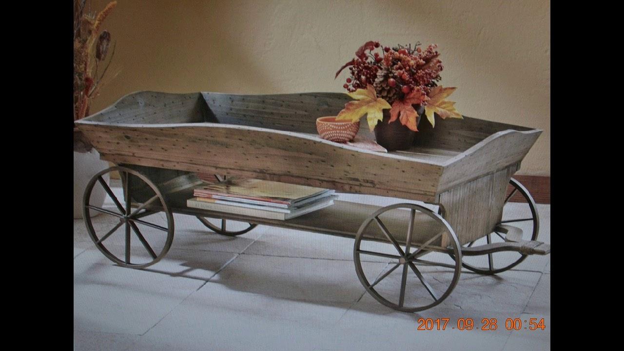 Wagon Coffee Table DW707125