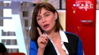 Emmanuelle Béart émue face à des images de son passé - C à vous - 03/04/2014