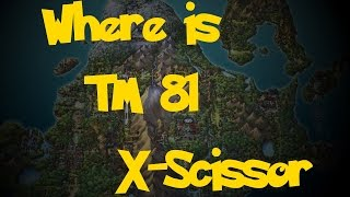 Where Is: TM 81 - X-Scissor (Location 1) (Pokemon Diamond/Pearl/Platinum)