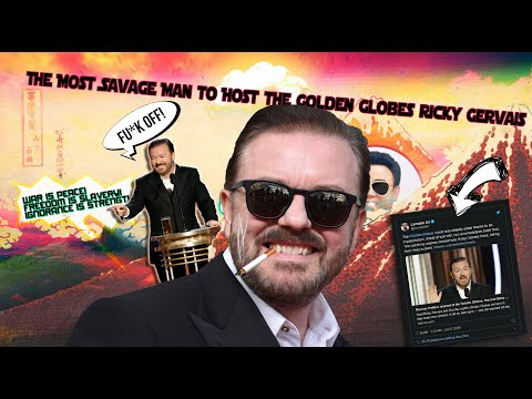 The Most Savage Man to Host the Golden Globes Ricky Gervais