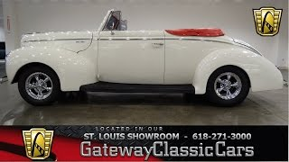 1940 Ford Deluxe - Gateway Classic Cars St. Louis - #6499