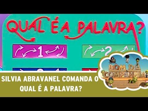 Silvia Abravanel comanda o Qual é a Palavra?
