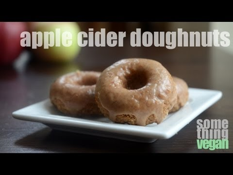 apple cider doughnuts (vegan & gluten-free) Something Vegan