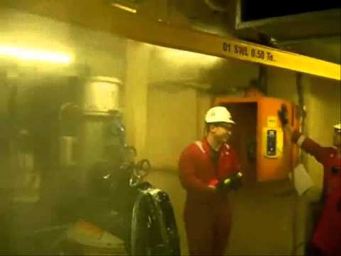 Water Mist Fixed Fire Fighting System for Ships