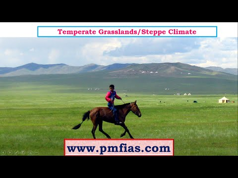 C27-Steppe Climate-Temperate Continental Climate -Temperate