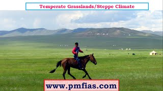 C27-Steppe Climate-Temperate Continental Climate -Temperate Grassland Climate-Prairies