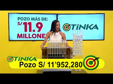Sorteo Tinka - Domingo 06 de mayo de 2018