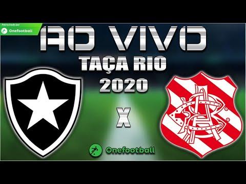 Botafogo x Bangu Ao Vivo | Taça Rio 2020 | 3ª Rodada | Narração