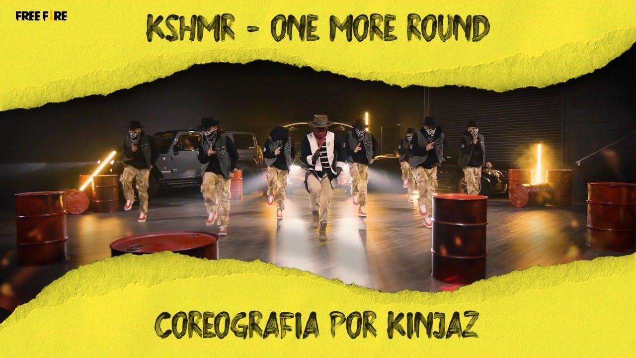 KSHMR - One More Round | Free Fire | Coreografia por KINJAZ