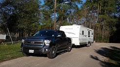 Our first travel trailer trip