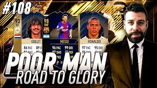 PRIME ICON 96 RONALDO or PRIME ICON 93 GULLIT?!? Poor Man RTG #108 - FIFA 18 Ultimate Team