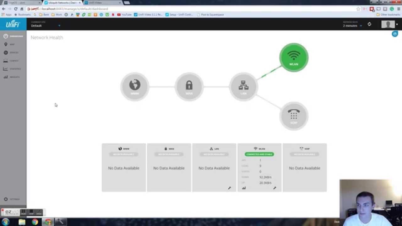 Ubiquiti Home Network Setup  Software