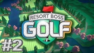 Hotel Magnate - Episode #2 - Resort Boss Golf Gameplay