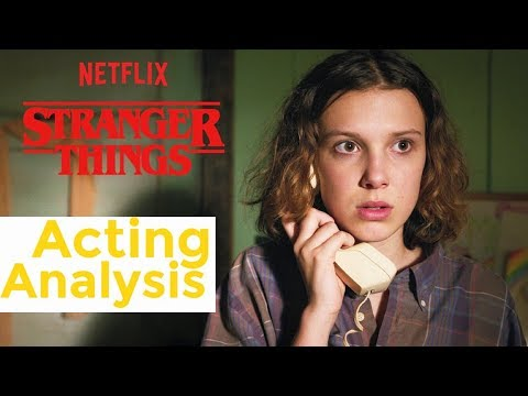 STRANGER THINGS Millie Bobby Brown Acting Analysis