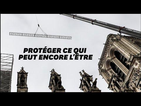 Notre-Dame : des ouvriers ont fumé sur l'échafaudage
