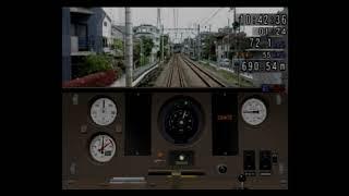 Train Simulator + 電車でGO! 東京急行編 #15 東急7290系 奥沢⇒大岡山 黄色い東急線が走ります!!