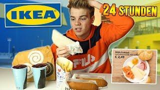 Nur IKEA Produkte ESSEN.. (24 Stunden Challenge)