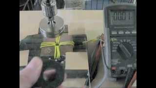 単極誘導の磁気遮蔽:コイルに起電力が発生しませんでした。