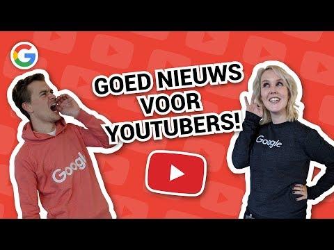 Goed nieuws voor YouTubers! - Vraag het Google #99