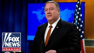 Secretary Pompeo holds press briefing at State Dept