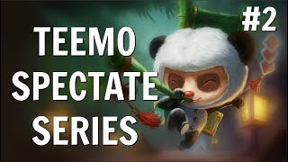 TM8 SPECTATING #2 - TEEMO JUNGLE FULL ATTACK SPEED thumbnail
