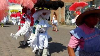 Carnaval Tenancingo Tlaxcala 2017 sección 4ta. Día Martes 2