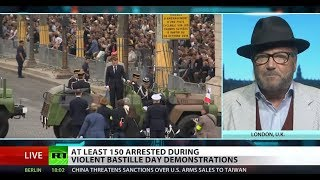 150+ Yellow Vest protesters arrested on Bastille Day – Galloway