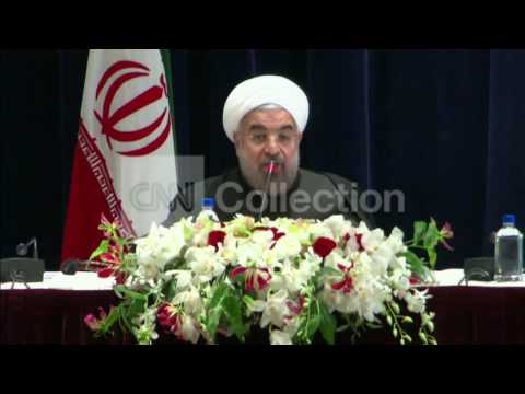 UN: ROUHANI: NUCLEAR ISSUE WILL BE SETTLED