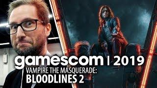 Vampire the Masquerade: Bloodlines 2 - powrót maskarady wampirów po latach