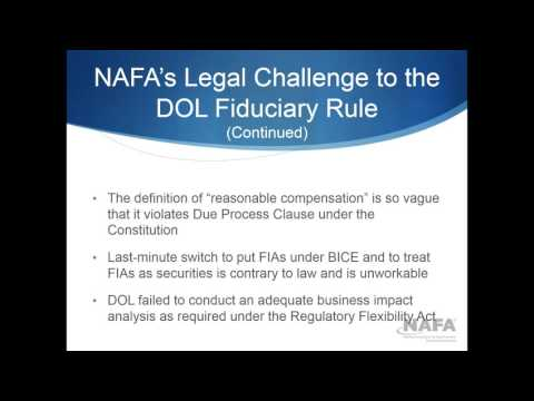 The DOL Ruling - Where are we now?