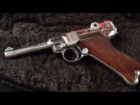 DWM Nickel Luger P08 Review 2