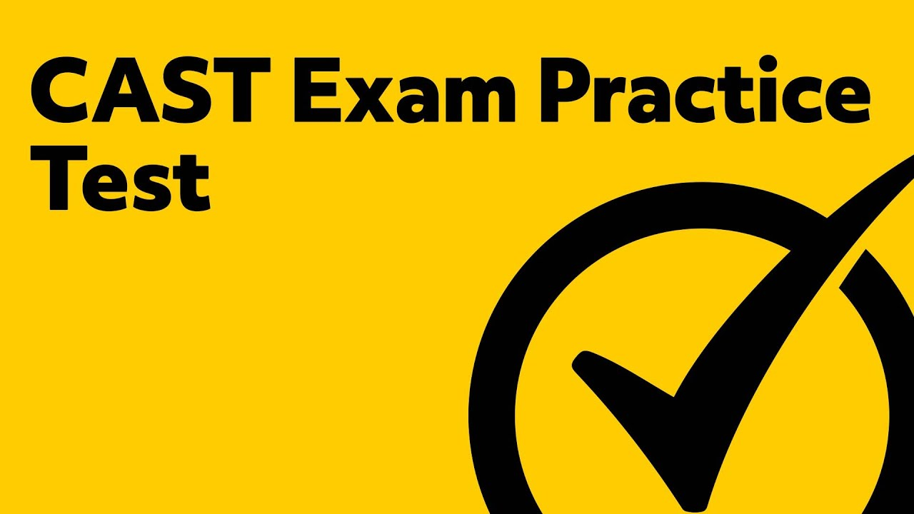 Construction and Skilled Trades Practice Test (CAST Review)