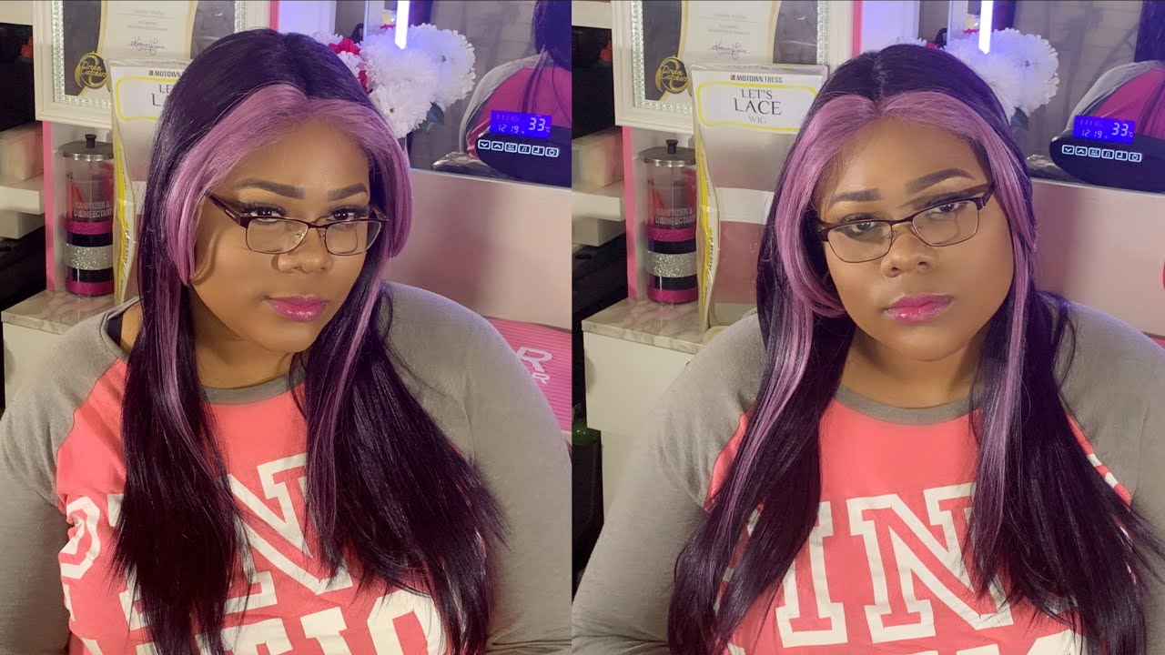I'll try any color BUT?! 😬 Let's Lace & Slay-n-Style with LDP-TOVA wig review | Ft. MotownTress