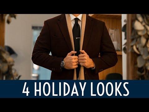 4 Holiday Looks || Mens Fashion Lookbook 2019 || Gents Lounge