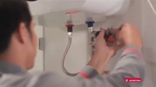 Hướng dẫn vệ sinh và bảo dưỡng bình nóng lạnh - Máy nước nóng gián tiếp Ariston