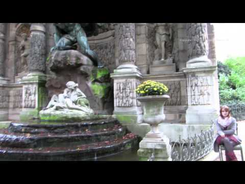 Walk around the Garden of the Museum of Luxembourg - Jardin du Luxembourg in Paris 1